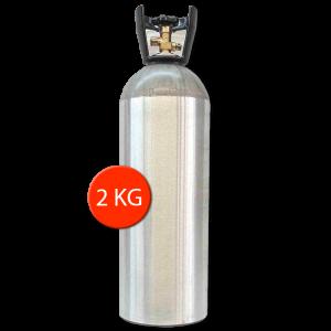 Lachgas tank kopen 2kg